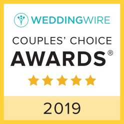 Wedding Wire 2019 Couples Choice Award