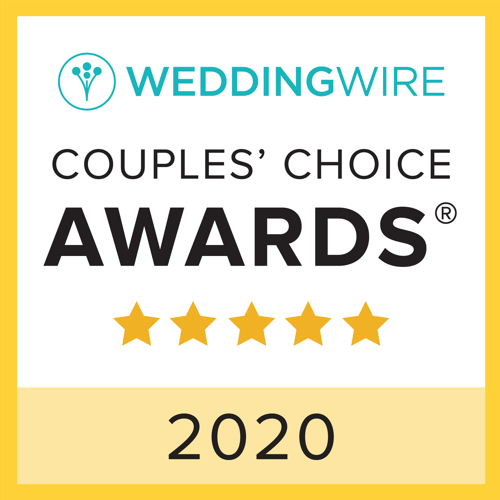 Wedding Wire 2020 Couples Choice Award